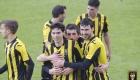 Celebración gol ante Zamudio